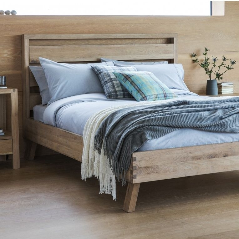 Hudson Living Kielder Oak 5ft King Size Bed