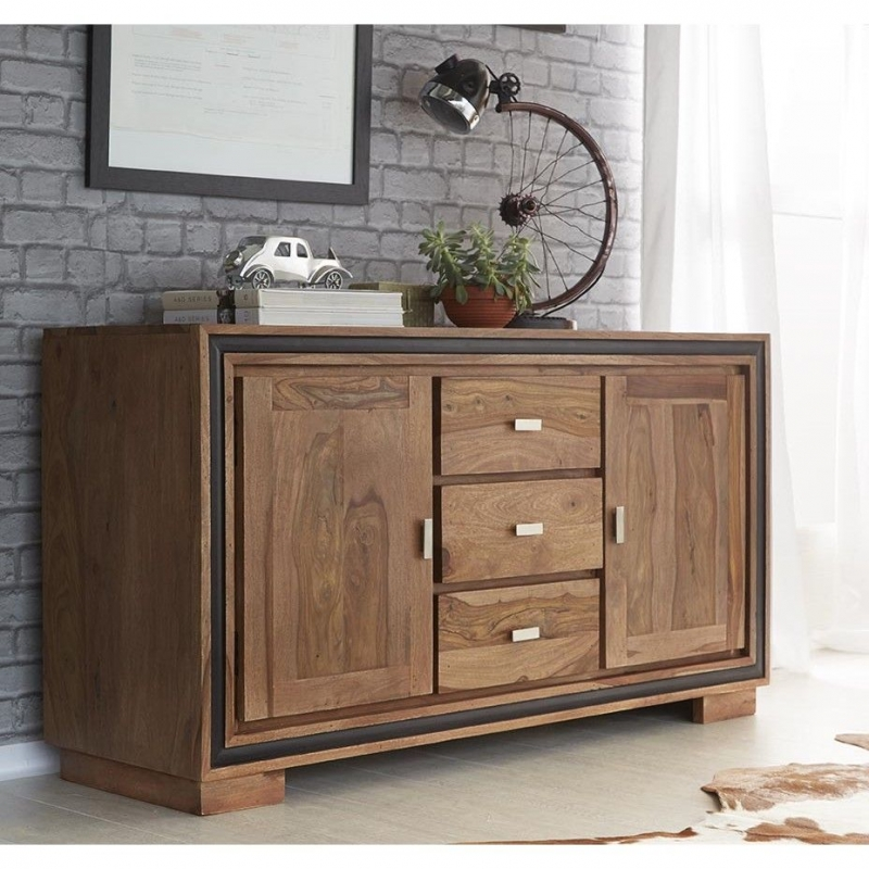 Indian Hub Jodhpur Sheesham Large Sideboard