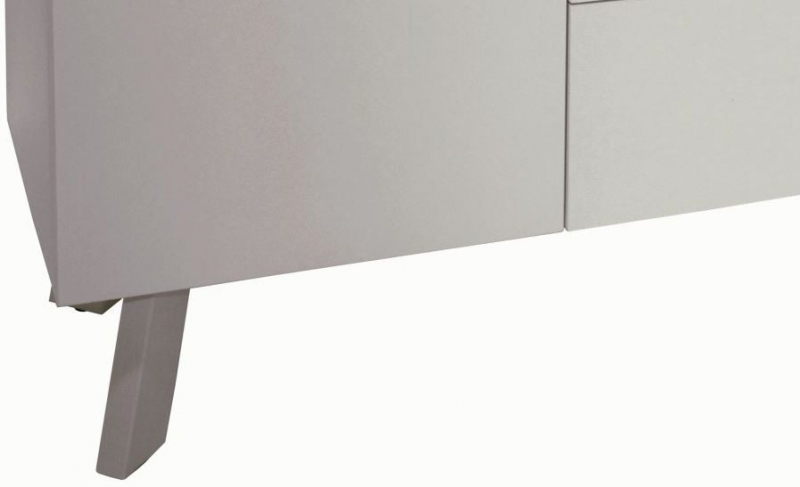Contemporary High Gloss Cappuccino Large Sideboard
