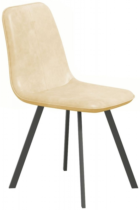 Delta Cream Dining Chair (Pair)