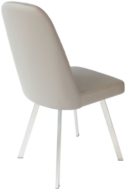 Flux Cappuccino Dining Chair (Pair)