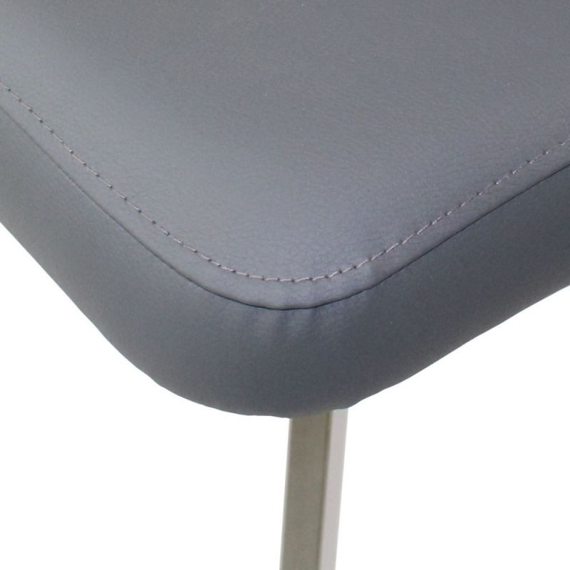 Flux Grey Dining Chair (Pair)