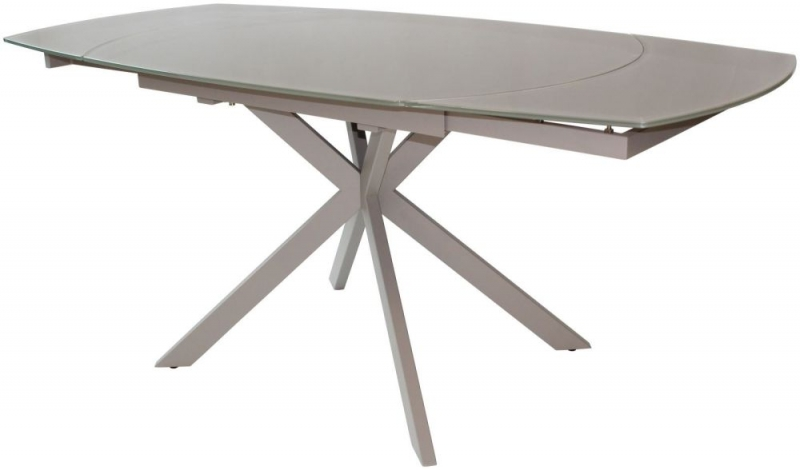 Flux Cappuccino Extending Motion Dining Table