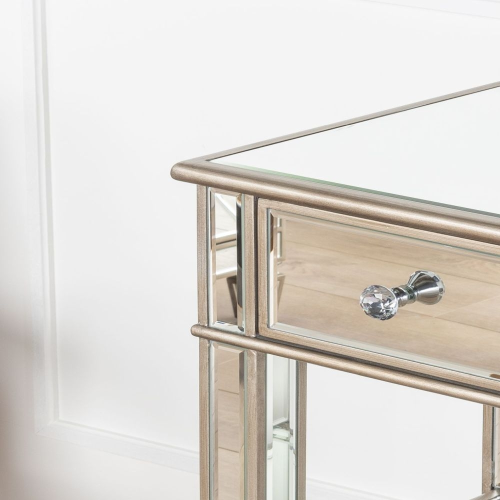 Urban Deco Antoinette Mirrored Telephone Table