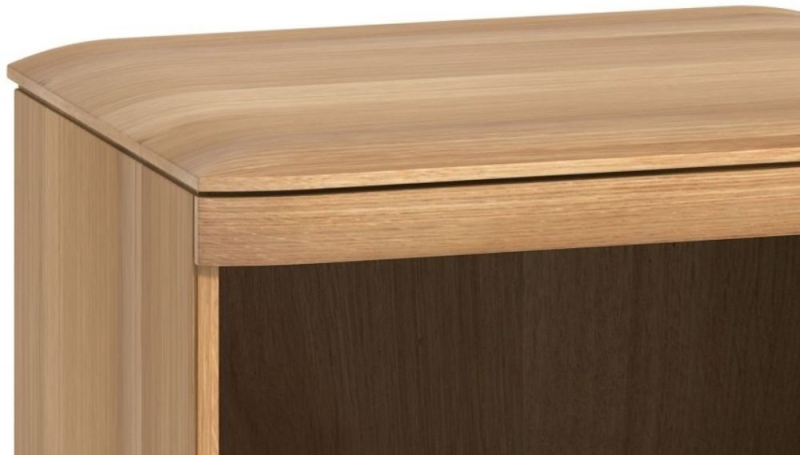 Forma Oak 1 Drawer Bedside Cabinet