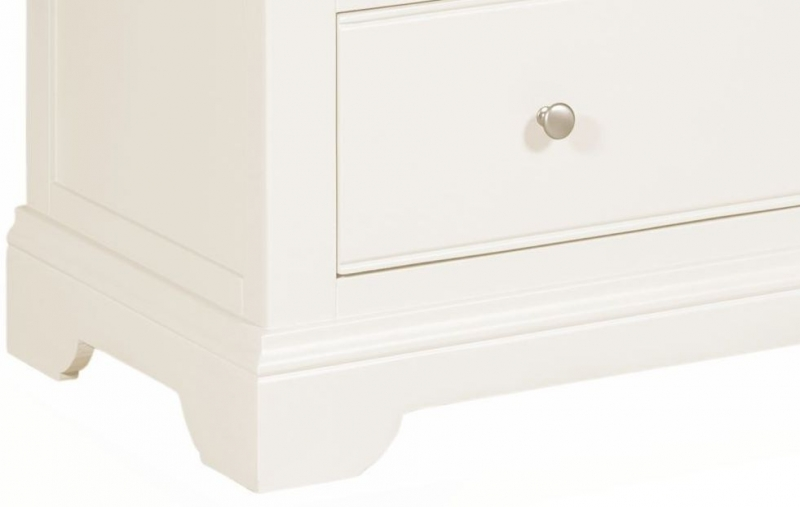 Lily White Painted 3 Drawer Chest