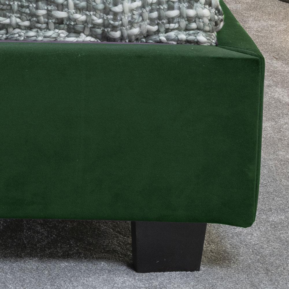 Urban Deco Simba Emerald Green Velvet 4ft 6in Double Bed