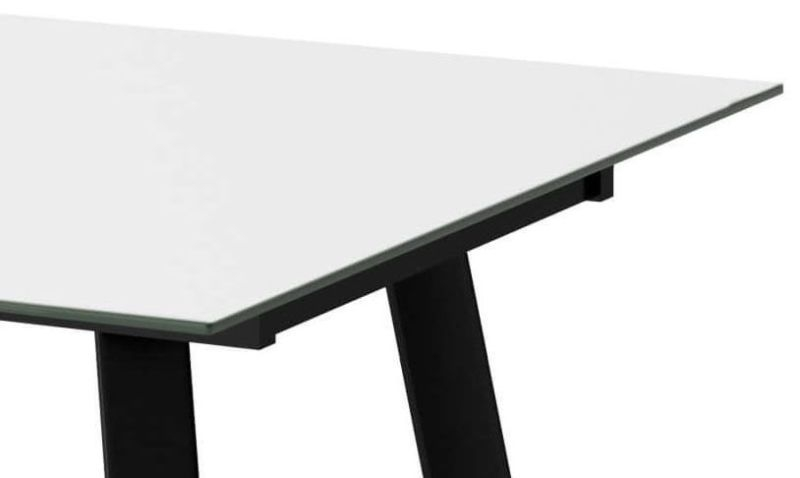 Ramos White Extending Dining Table