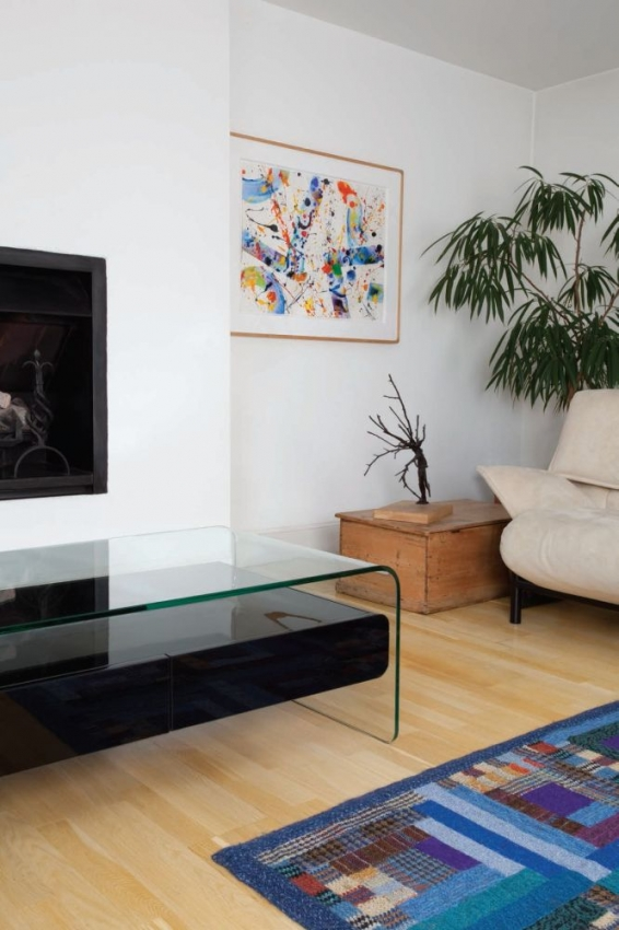 Greenapple Glass Plus Mauritius Coffee Table - White LY1301