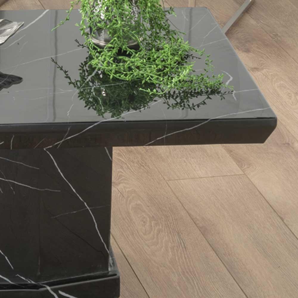Urban Deco Naples Black Marble Coffee Table
