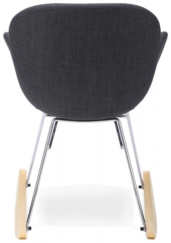 Juk Dark Grey Rocking Chair