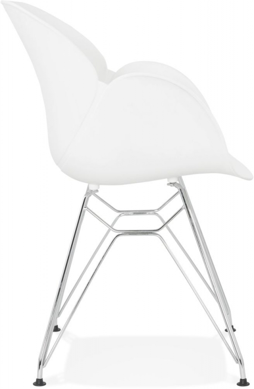 Finley White Dining Chair