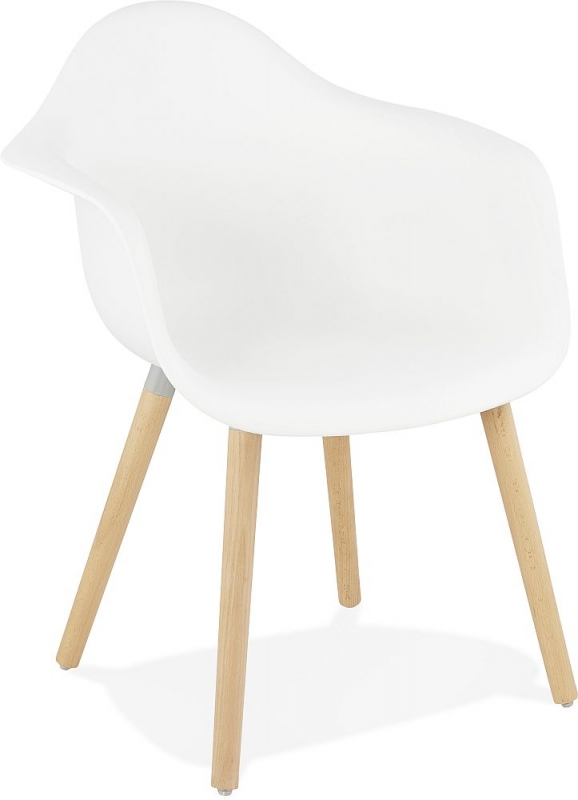 karla White Dining Chair