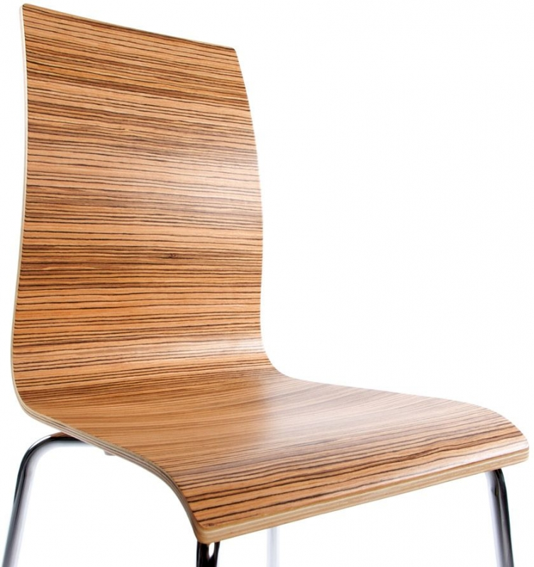 Lge Zebrano Dining Chair
