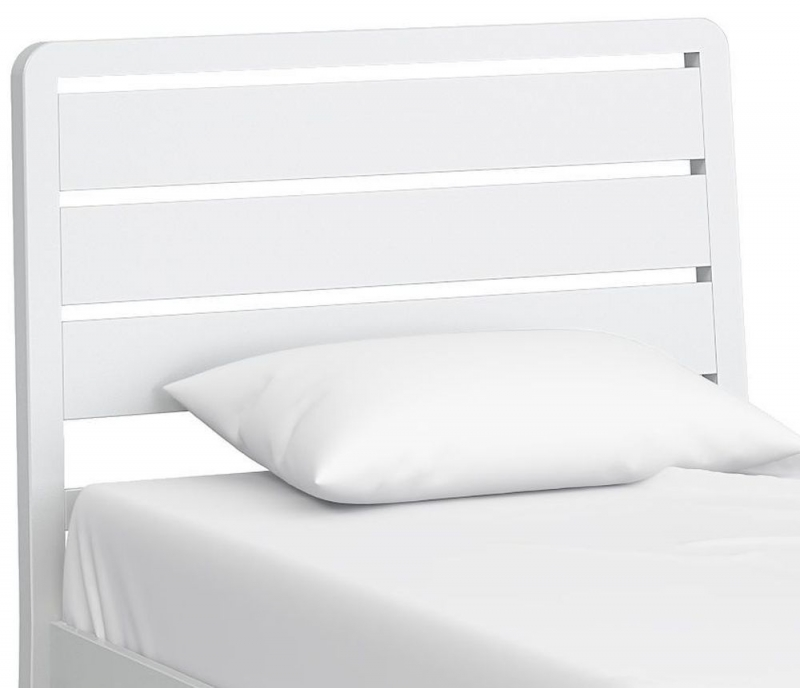 Global Home Hampstead White 3ft Bed