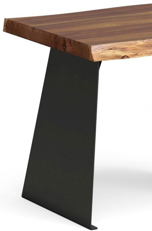 Corndell Milan Lamp Table - Wood and Metal