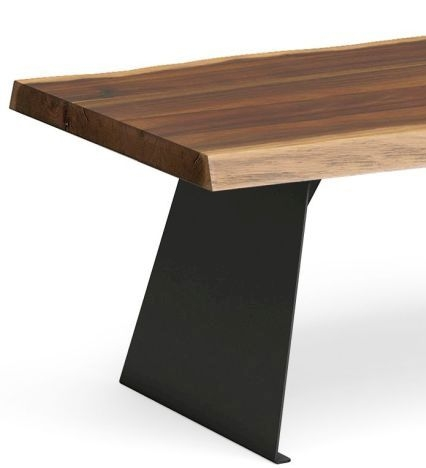 Corndell Milan Coffee Table - Wood and Metal