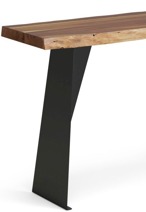Corndell Milan Console Table - Wood and Metal