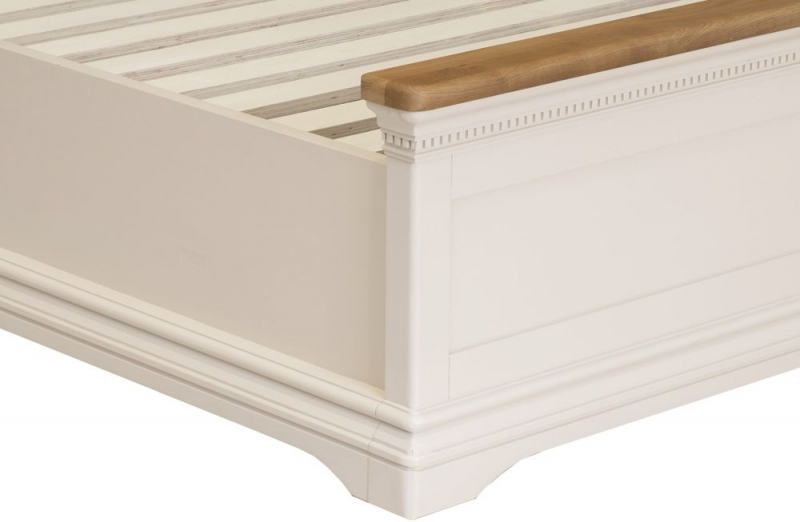 Vida Living Winchester Silver Birch Painted Upholstered Bed