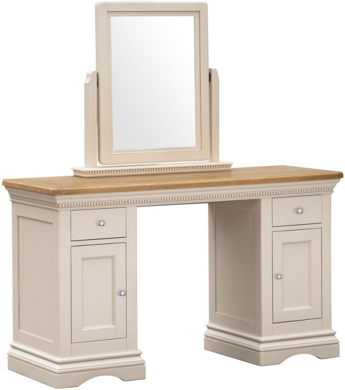Vida Living Winchester Silver Birch Painted Vanity Mirror