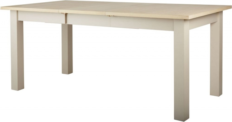 Corndell Woodstock Extending Dining Table - Oak and Painted