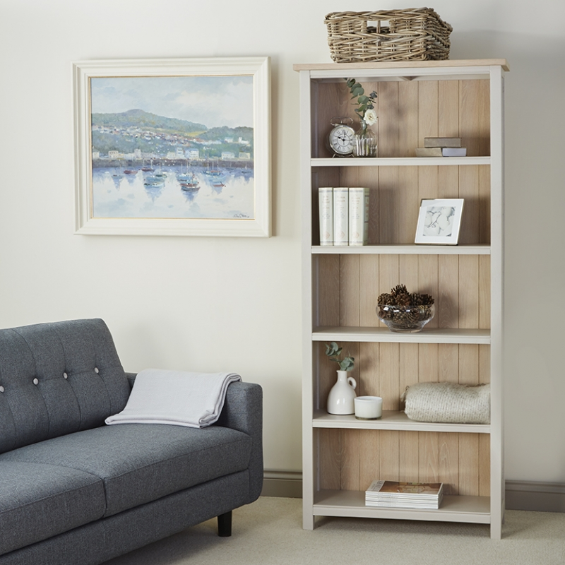 Corndell Woodstock Bookcase - Oak and Painted