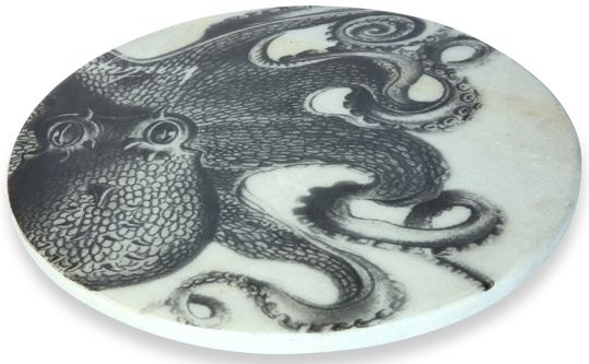 Cullinary Concept Octopus Marble Serving Platter
