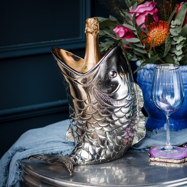 Cullinary Concept Fish Bottle Holder