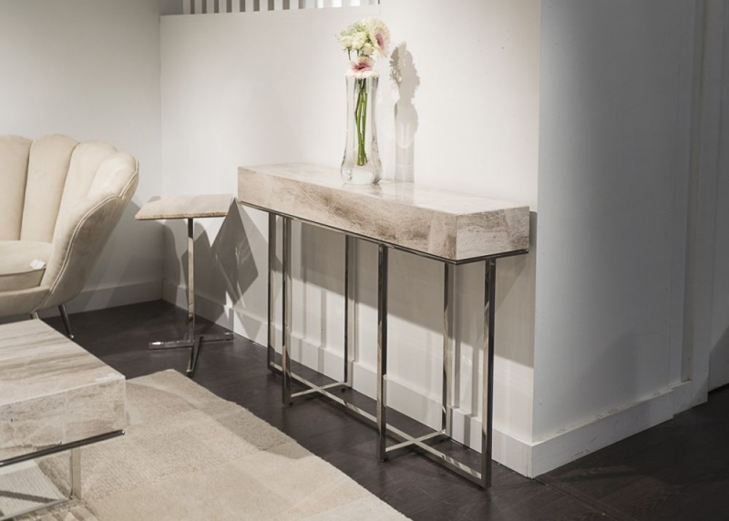 Stone International Gipsy Occasional Tables - Marble and Metal