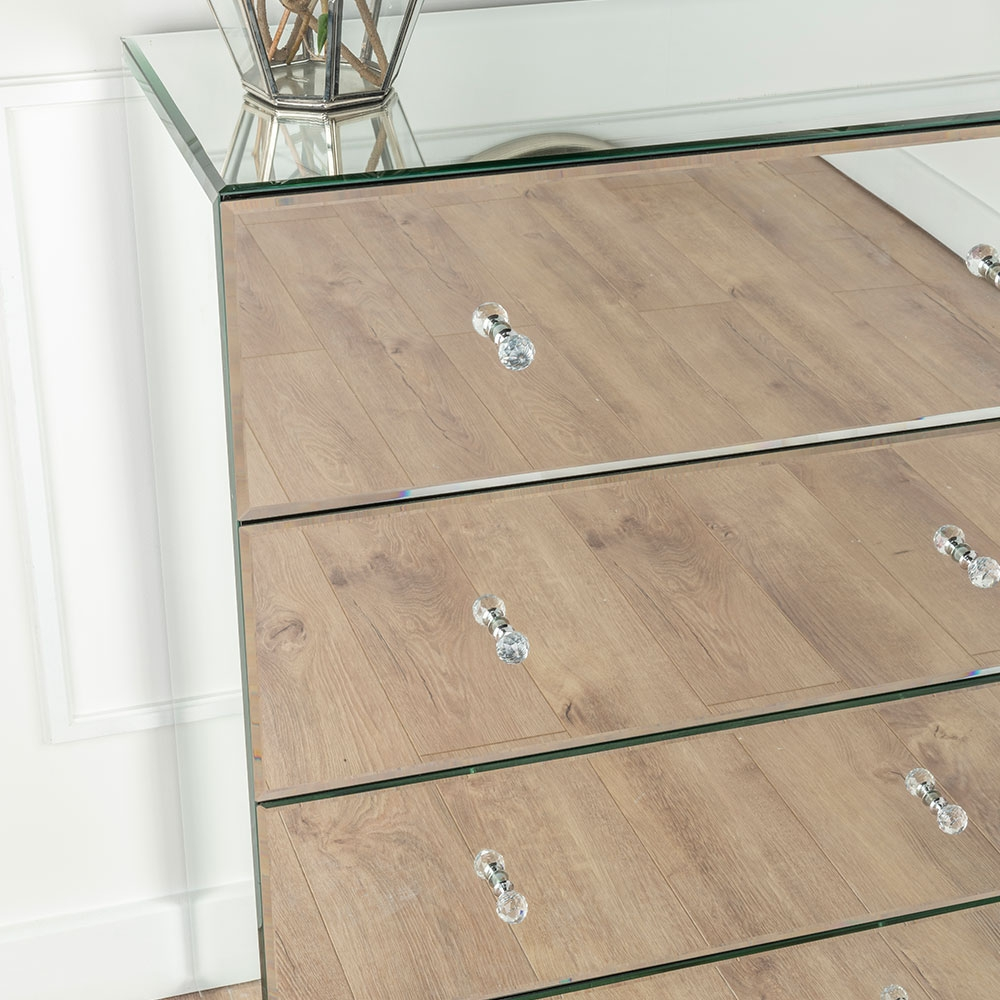 Chelsea Mirrored 4 Drawer Chest