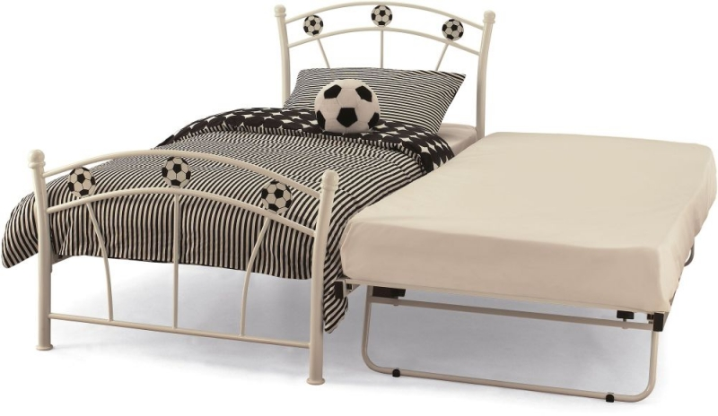 Soccer White Guest Bed