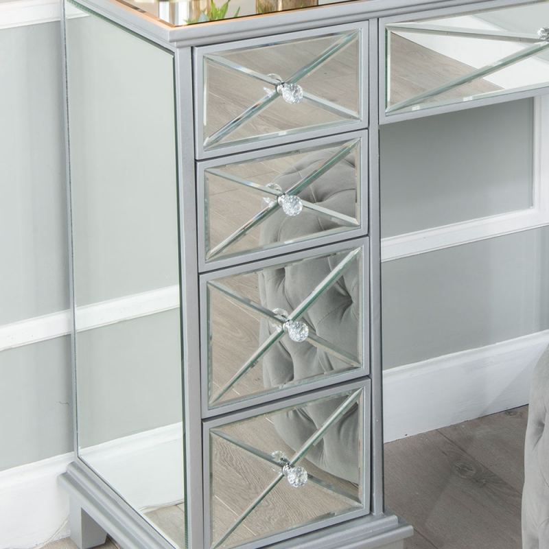 Urban Deco Mayfair Mirrored Dressing Table
