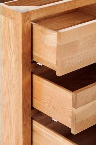 Handmade Oak 3 Drawer Cabinet