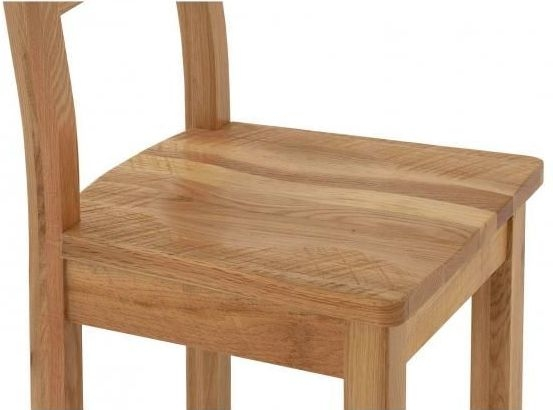 Vancouver Sawn Oak Dining Chair (Pair)