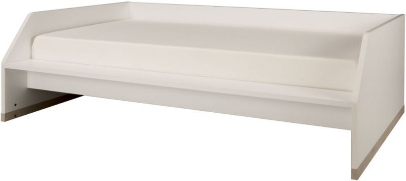 Gami Tiago Bed Bench - White and Bleached Pine