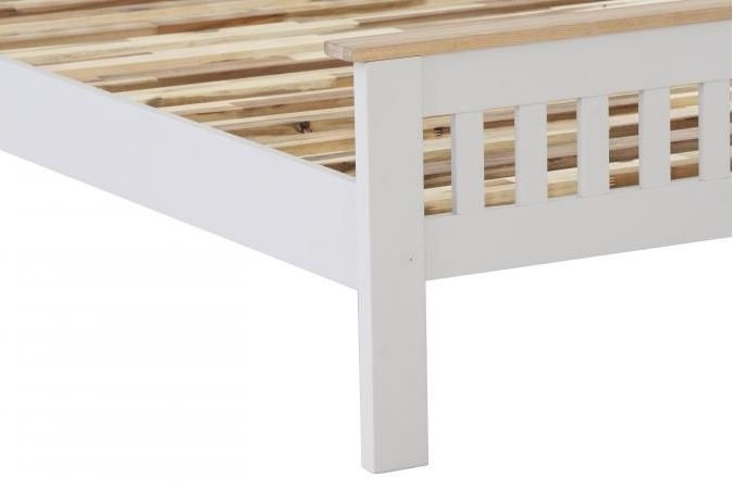Vancouver Compact Bed - Oak and Light Grey