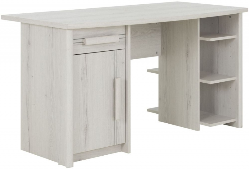 Gami Montana Whitewashed Oak Desk
