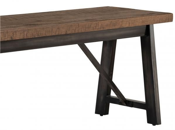 Forge Old Oak Industrial Bench