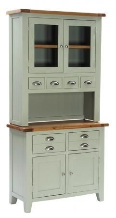 Vancouver Expressions 2 Door 2 Drawer Buffet - Oak and Grey-ANB001B