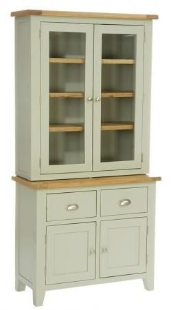 Vancouver Expressions 2 Door 2 Drawer Buffet - Oak and Grey