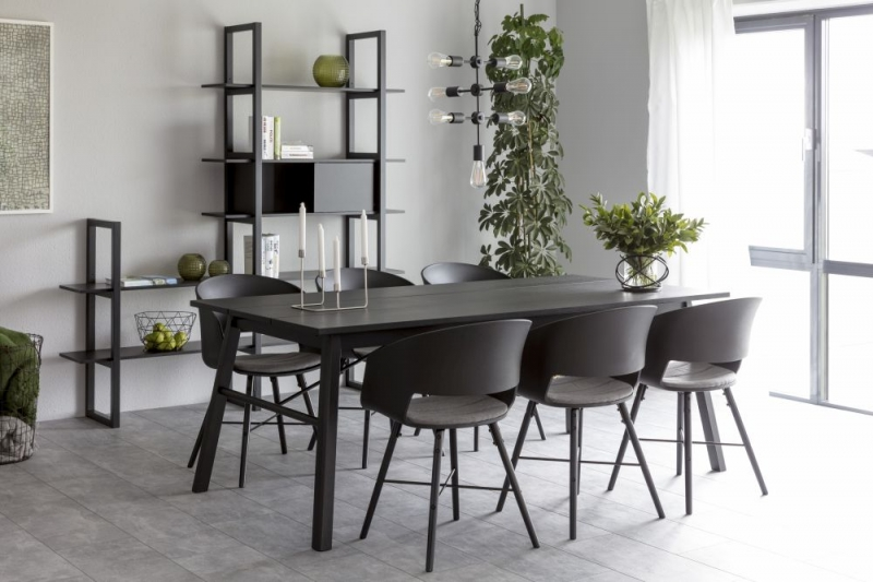 Carolina Black Stained Dining Table