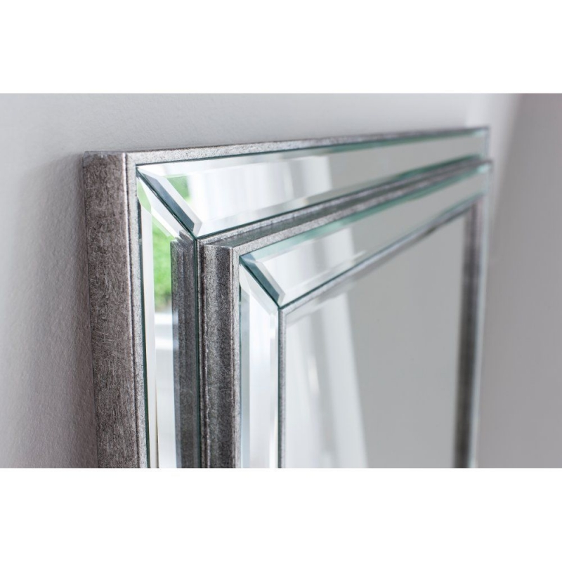 Gallery Direct Chambery Leaner Mirror - Pewter