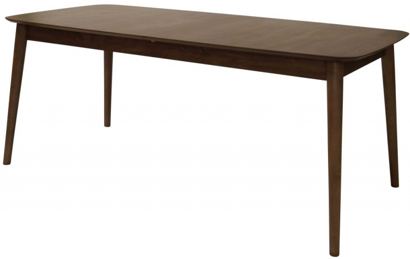 Mesilla Walnut Stained Butterfly Extending Dining Table