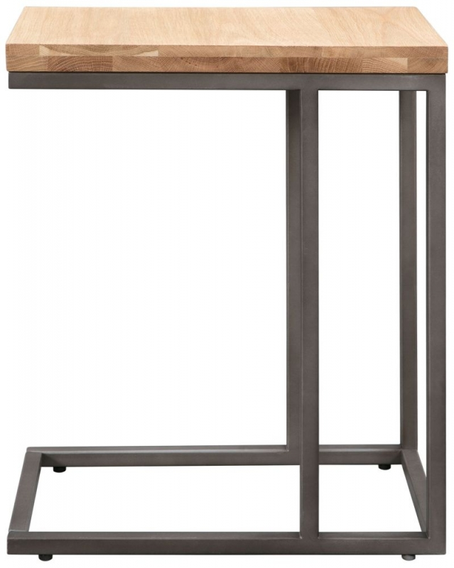 Pergo Industrial Weathered Oak Sofa Table