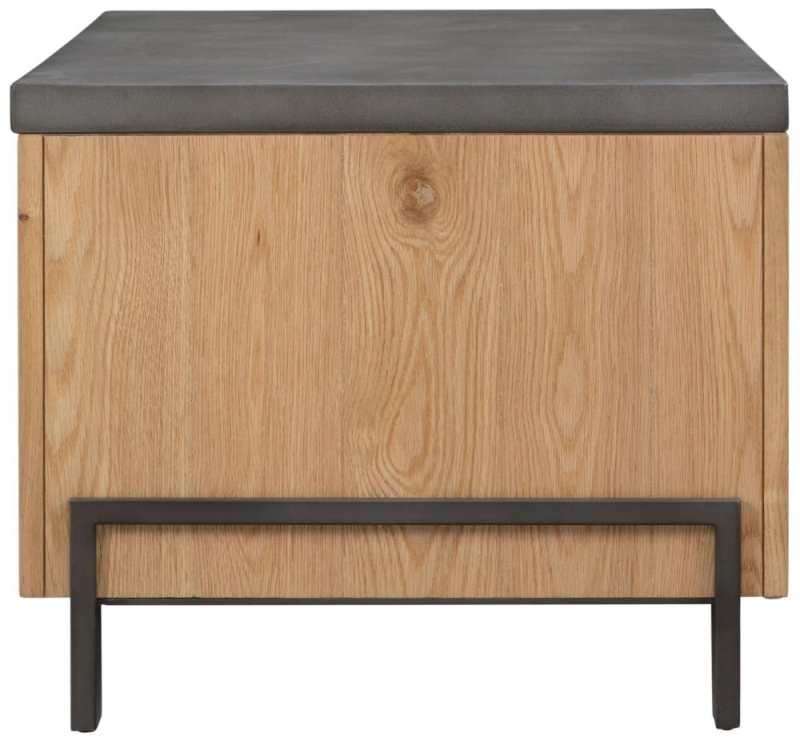 Pergo Industrial Weathered Oak Standard Coffee Table