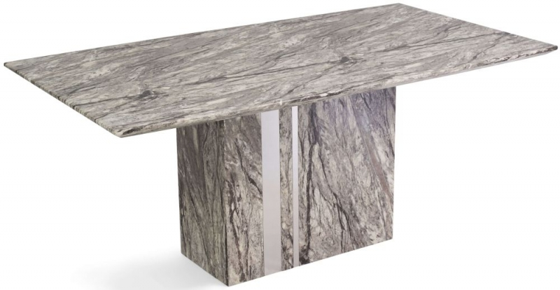 Mark Harris Alice Grey Marble Dining Table