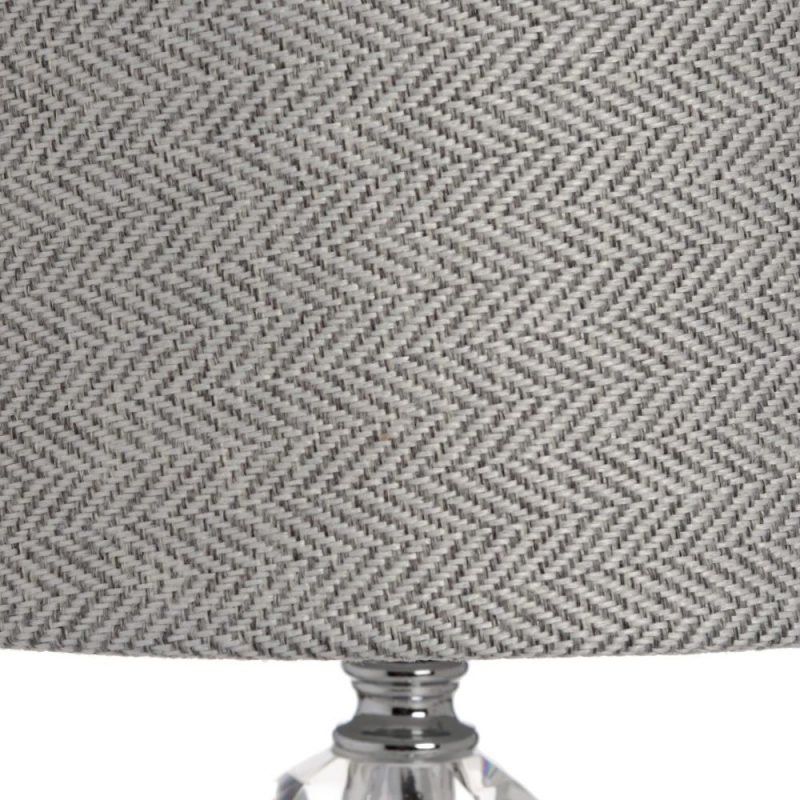 Hill Interiors Florence Chrome Table Lamp