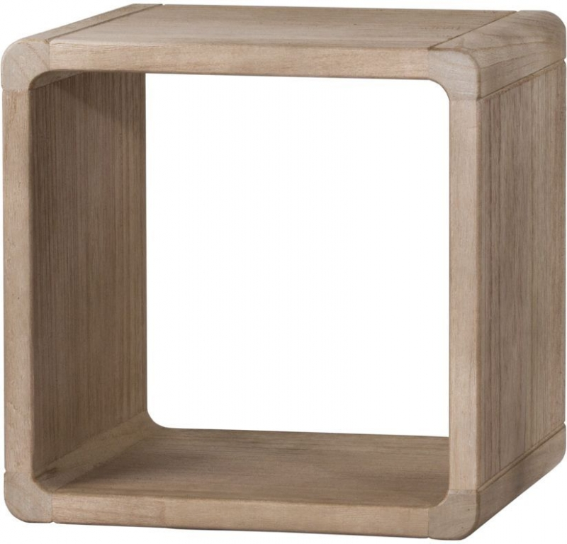 Hill Interiors Wooden Hanging Display Cubes (Set of 4)