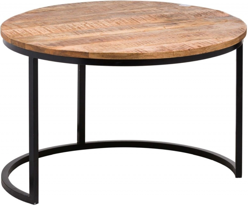 Hill Interiors Industrial Nest of Table (Set of 3)
