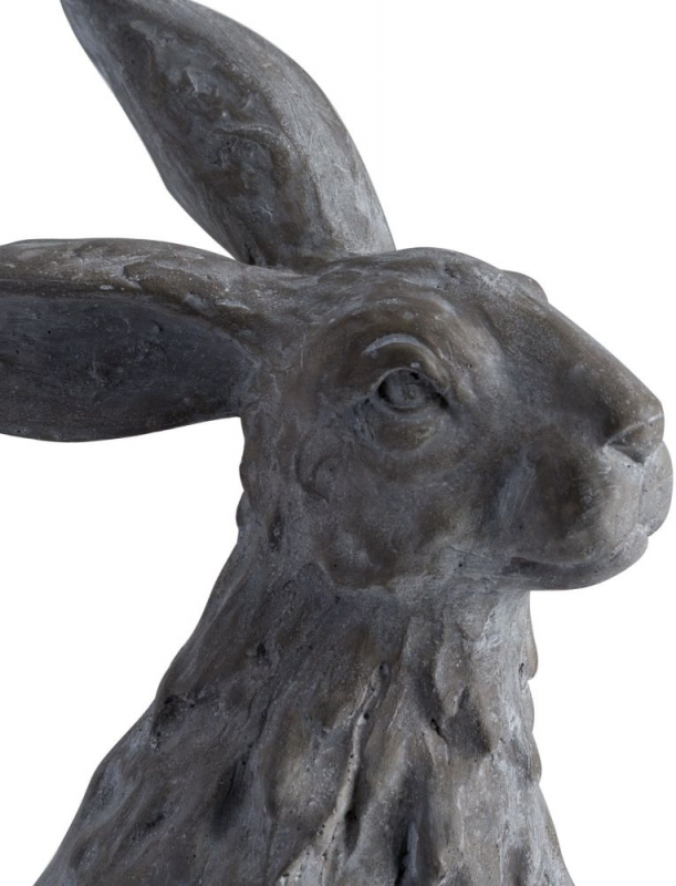 Hill Interiors Large Sitting Outdoor Hare Statue